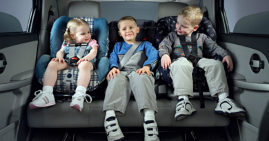 Изменения в ПДД по перевозке детей без автокресла